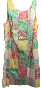 Lilly Pulitzer short dress Patchwork on Tradesy