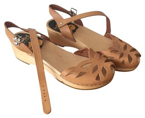 swedish hasbeens Tan Sandals