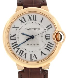 Cartier Cartier Ballon Bleu Midsize 36MM Rose Auto Watch W6900456 Box & Papers