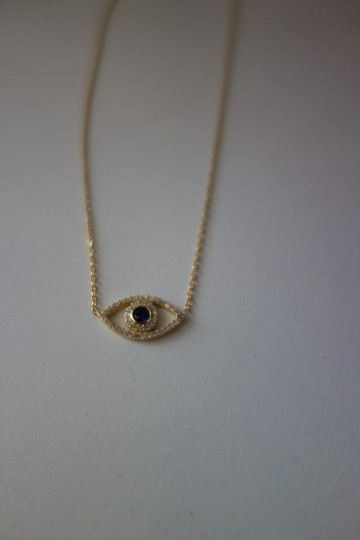 """Other Contessa Couture House of Design """"Evil Eye"""" Necklace"""