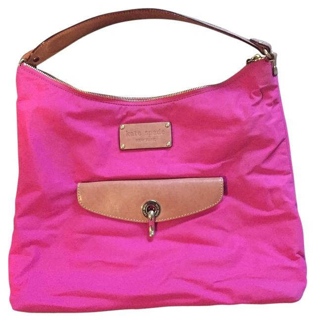 Item - Coach Pink Nylon Shoulder Bag