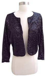 bebe Sequins Black Blazer