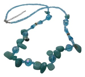 Other Russian Amazonite Gemstone Necklace 32 inches w Free Shipping