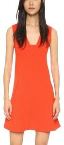 Alexander Wang Shift A Line Red Dress