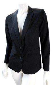 A.N.A. a new approach Lined Suit Black Blazer