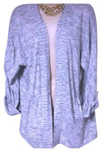 Talbots Open Front Knit Melange Nwt S Cardigan