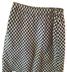 Joan Vass Skirt Black and White