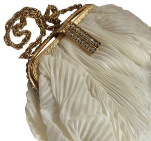 Vintage Evening Bag IVORY Bridal Baguette