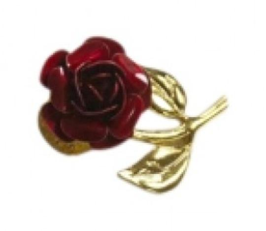 Preload https://item2.tradesy.com/images/red-and-gold-rose-tone-brooch-pin-154881-0-0.jpg?width=440&height=440