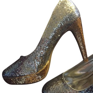 Rampage Silver and Gold glitter! Platforms