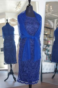 Mon Cheri Navy 115871 Dress