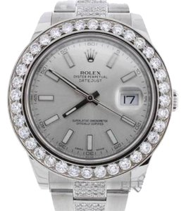 Rolex Rolex Datejust II Watch 116300 w/Diamond Bezel/Bracelet, Box/Papers