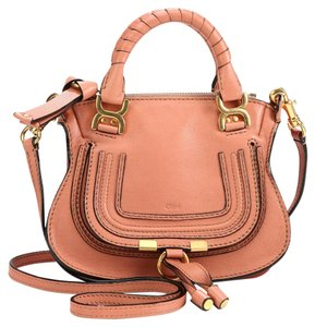 Chloé Rare Discontinued Holiday Satchel in Waterlily Pink