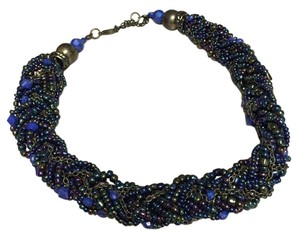 Other Beautiful multi-color beaded choker.