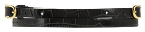 Stella McCartney Stella McCartney black skinny belt