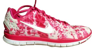 Nike Free Run 5.0 Rare Pink and White Athletic