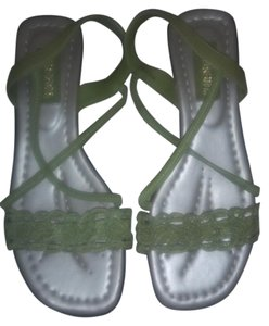 Sugar Foot Green Apple Sandals