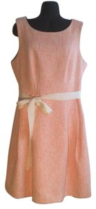 Trina Turk short dress Peach and Metallic on Tradesy