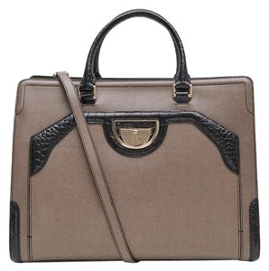 Roberto Cavalli New Collection Mini Satchel in taupe