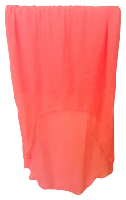 Express Mermaid Summer Sundress Flowy Chiffon Flattering Vacation Island Ethereal Wedding Night Out Date Night Outdoor Maxi Skirt Orange