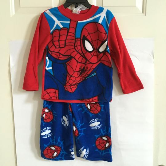 f8c3109adf good Marvel Kids  Spider-man Boys Fleece Pajama Set - 4 T Shirt BLUE ...