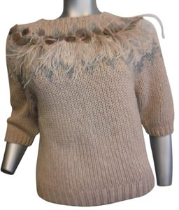 Brunello Cucinelli Cashmere Ostrich Feather Sweater