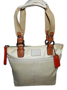 Coach Purse Hampton Tote Shoulder Bag