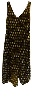 Laundry by Shelli Segal short dress Black/White Geometric Print Belted on Tradesy