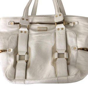 Jimmy Choo Tote in Off Whit