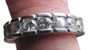 Exceptional quality 2Ct.Diamond Platinum Band