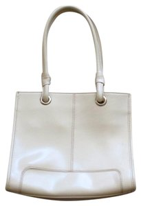 Wilsons Leather Satchel in Ivory