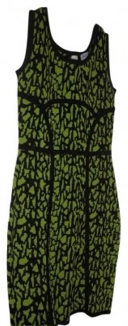 Preload https://item4.tradesy.com/images/carmen-marc-valvo-green-name-description-and-black-print-sleeveless-with-peephole-in-back-above-knee-154928-0-0.jpg?width=400&height=650