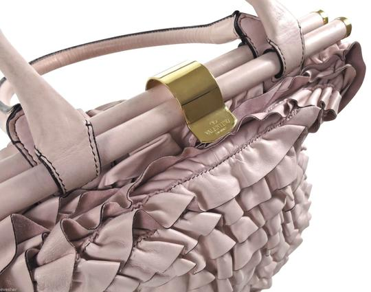 Valentino Tote in Pink Rose