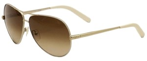 Chloé CE107S 762 Gold White Brown Shaded
