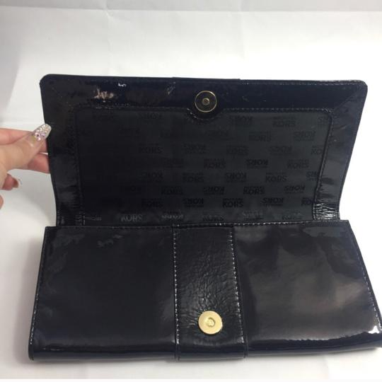 Michael Kors Black and Gold Clutch Image 3