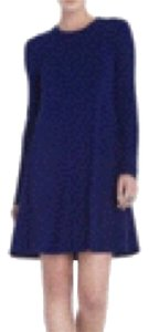 BCBGMAXAZRIA short dress Navy on Tradesy
