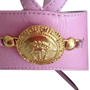 Versace Gianni Medusa 37.5 Size Pink Formal
