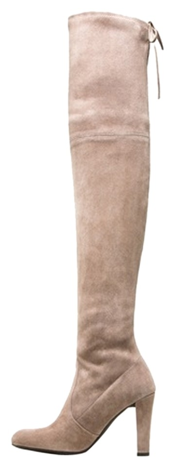 Stuart Weitzman Light Tan/Nude Tan/Nude Light Highlander Boots/Booties 56b3c4