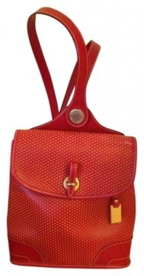 Preload https://item3.tradesy.com/images/dooney-and-bourke-red-leather-backpack-154937-0-0.jpg?width=440&height=440