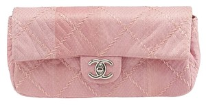 Chanel East West Python Quilted Shoulder Bag