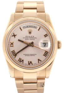 Rolex Rolex President Day-Date 18K Rose Gold Oyster 36MM Mens Watch 118205 Box&Papers