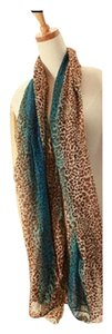 Other Multi Leopard Print Scarf