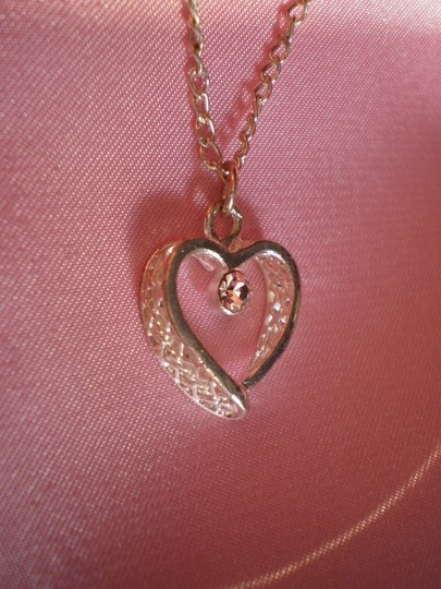 Other Crystal heart necklace