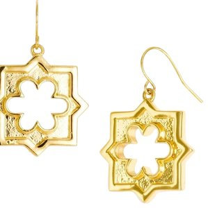 Tory Burch Tory burch Geo star dangling drop earrings