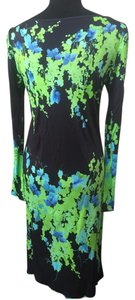 black,green, blue Maxi Dress by Blumarine