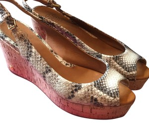 Tory Burch Snake Wedges