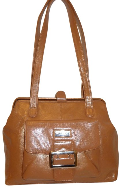 Item - Shoulder Tan Leather Satchel