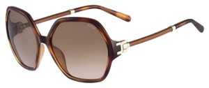Chloé Ce638sl Havana Brown Gradient