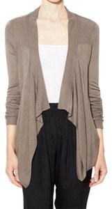 Gold Hawk Open Front Cardigan Bamboo Sweater