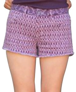 JOE'S Jeans Cut Off Shorts Plum Bandana Ethnic